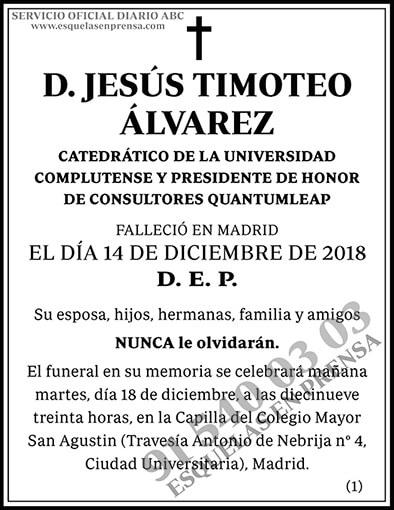 Jesús Timoteo Álvarez